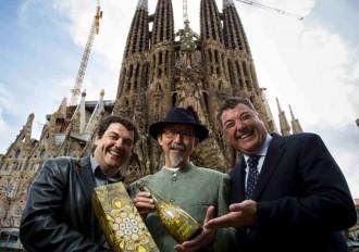 Vés a: Etsuro Sotoo, escultor de la Sagrada Família, vesteix el nou cava Torelló