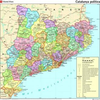 La comarca del Moianès ja apareix als mapes