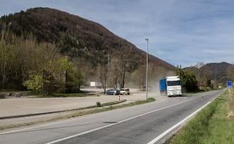 El pas de camions per la C-26 es restringirà de forma «immediata»