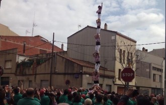 Els Minyons de Terrassa acabaran de rodar a l'Hospitalet de cara a Sant Jordi