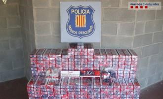 Vés a: Desmantellat a Sort un grup criminal dedicat al contraban de tabac