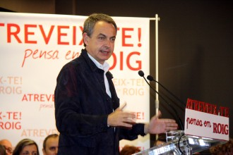 Vés a: Zapatero demana als sobiranistes que recorrin a l'Estatut de 2006