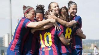 Vés a: El Barça femení es proclama campió de la quarta Lliga consecutiva
