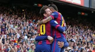 Vés a: El Barça aguanta les envestides del València i guanya un partit clau (2-0)