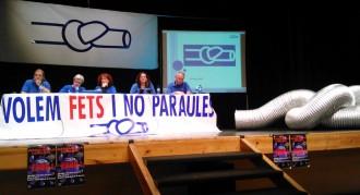 La PDE convoca al juliol la pròxima mobilització contra el pla de l'Ebre