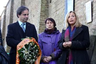 Ortega commemora l'alliberament de Ravensbrück