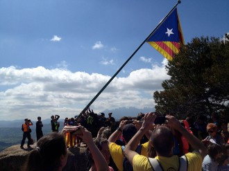 Iwo-Jima independentista al Bages