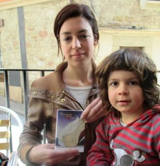 Anna Terricabras posa imatges a una poesia de Mònica Terribas