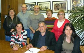 Josep Forcada, nou president de la Unió de Botiguers de Ripoll