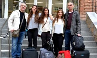 Els alumnes de secundària s'acomiaden de l'últim any del Comenius