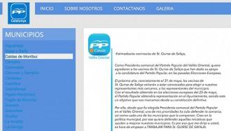 El PP recupera els topònims franquistes del Vallès Oriental