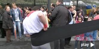 L'assaig dels Castellers d'Andorra a dos dies del seu Bateig