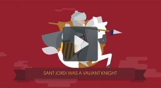 El Barça explica Sant Jordi al món