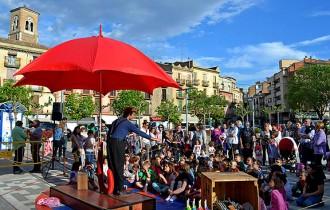 Súria celebra la diada de Sant Jordi amb animació