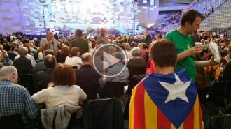 Vés a: Vídeo en directe: L'acte d'«Ara és l'hora» al Palau Sant Jordi