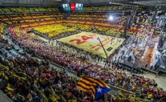 Un palau Sant Jordi ple enceta la campanya de les plebiscitàries