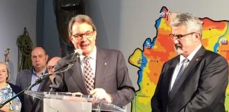 Artur Mas crida a «vèncer les pors» per trencar l'actual «statu quo»