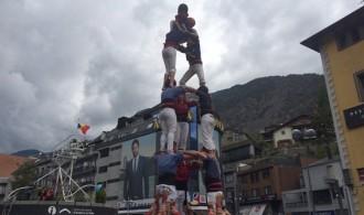 Andorra bateja la seva colla castellera