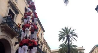 Tripleta de 8 dels Nens del Vendrell a Vilanova