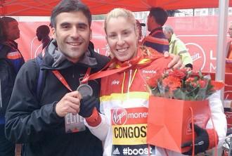 Elena Congost, subcampiona del món paralímpic de marató