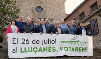 Els alcaldes del Lluçanès insten a votar al procés participatiu del 26-J