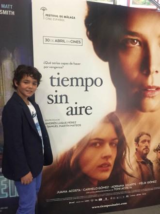 Dijous s'estrena «Tiempo sin aire» amb Ivan Luengo de protagonista