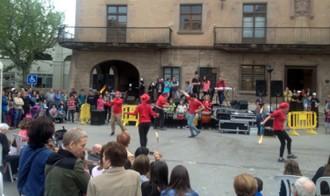 Cardona estrena la dansa de l'Acció Global Ciutadana