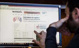 Vés a: Voleu calcular com es repartiran els regidors del vostre municipi?
