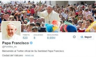 Vés a: El papa Francesc, l'usuari de Twitter amb més influència