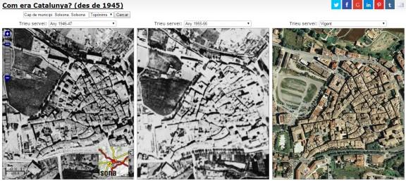 Com ha canviat Solsona des de l'any 1945?