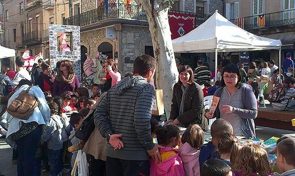 Els infants, eix dels actes de Sant Jordi a Sant Vicenç