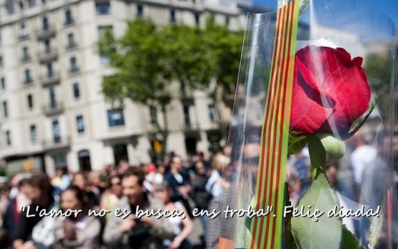 Envieu la vostra felicitació de Sant Jordi
