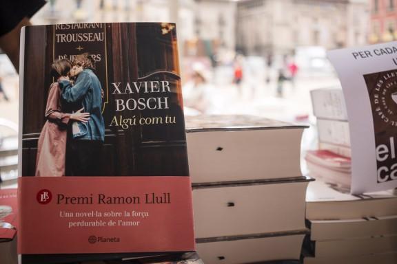 «Algú com tu», de Xavier Bosch, el més venut per Sant Jordi, també al Bages