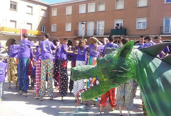Una diada de Sant Jordi esplèndida a Navàs