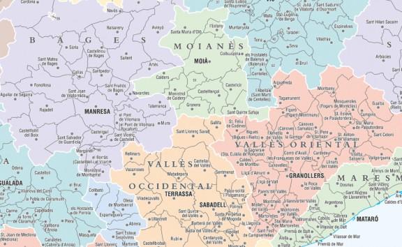 El Moianès esqueixa el Vallès Oriental