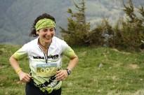 Salvi Fargas i Dolors Morcillo, els més ràpids en pujar al Puig Cerverís