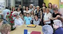 Una veïna de Santa Eulàlia de Riuprimer compleix 100 anys