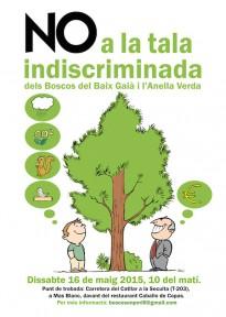 Vés a: Acció contra la tala indiscriminada al Baix Gaià i l'Anella Verda