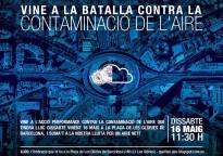 Vés a: Batalla contra la contaminació de l'aire aquest 16 de maig a Barcelona