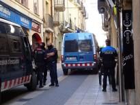 Espectacular desplegament policial en una batuda antidroga a Tàrrega