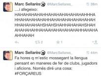 Un exjugador del Lleida se'n riu de la no classificació pel play-off
