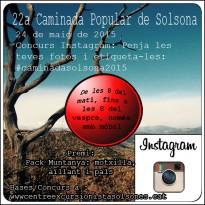 Concurs Instagram de la Caminada de Solsona