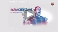 El vídeo que el Barça ha dedicat a Xavi Hernández