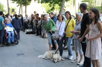 Col·lectius de cecs protesten per no poder votar de forma secreta