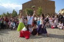 Fotos dels Bastoners i Ball de Gitanes, per la Diada del Patrimoni