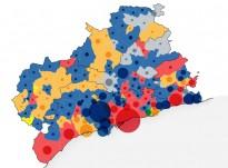 De quin color ha quedat el Camp de Tarragona després del 24-M?