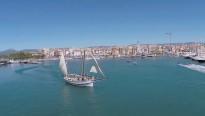 La Festa del Mar a vista de drone