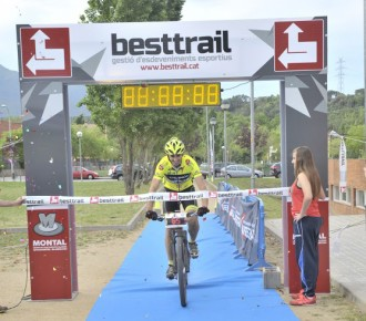 Jordi Prieto guanya la Ultrabike PRO 2015 en BTT pel Montseny