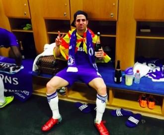Vés a: Cesc Fàbregas celebra la «Premier League» amb la senyera