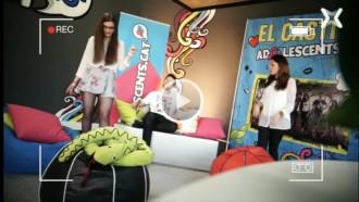 Ja es pot veure «online» el quart programa de TV d'Adolescents.cat